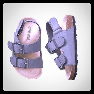 Gymboree Retail Trail Sandals in Gray - NEW